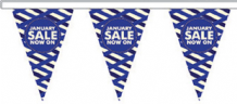 January Sale Style 8 Superior Bunting 10m (32') Long With 24 Flags